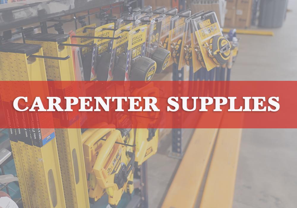 Carpenter Supplies