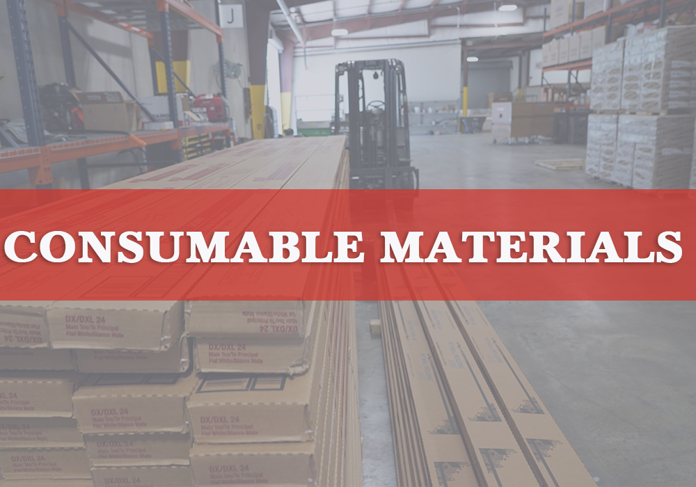 Consumable Materials