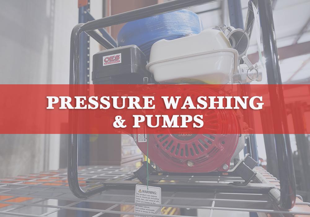 Pressure Washing & Pumps